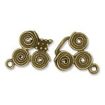 Antique Finish Hook Clasp